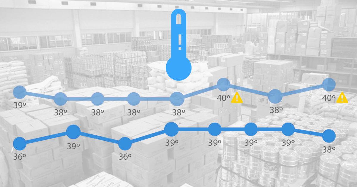 automatic temperature data