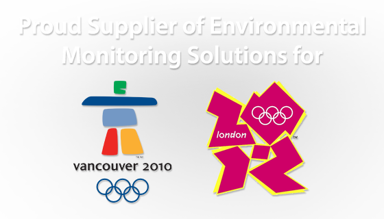 Enviromental Monitoring the London and Vancouver Olympics